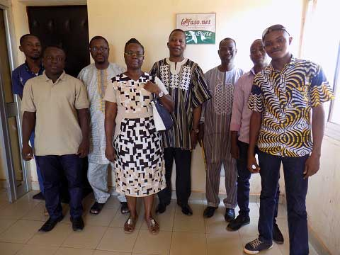 Vie du Journal: Le Programme de croissance économique dans le secteur agricole nous a rendu visite
