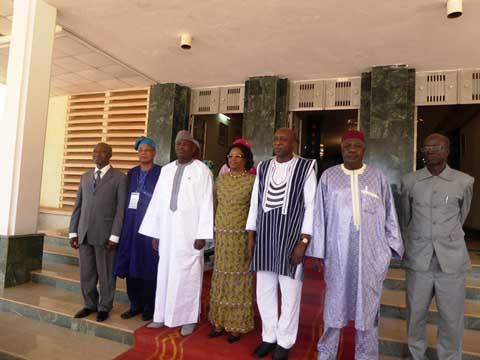 Des médiateurs de l'UEOMA ont été reçus par le premier ministre