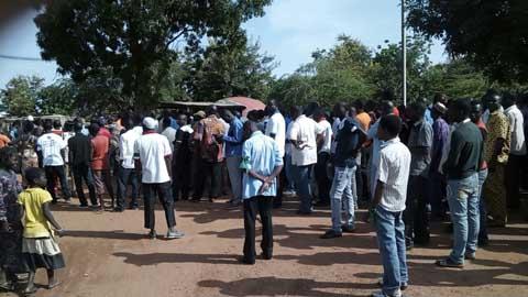 Des OSC de l'Est ont marché pour la réfection de la route Fada- Koupèla