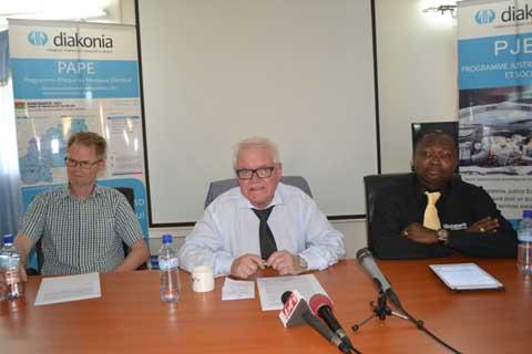 L'ONG Diakonia Internationale s'engage à rester aux côtés du Burkina Faso