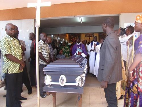 Etienne Zongo: Absoute à la Patte d'Oie, espérance de résurrection dans les cieux