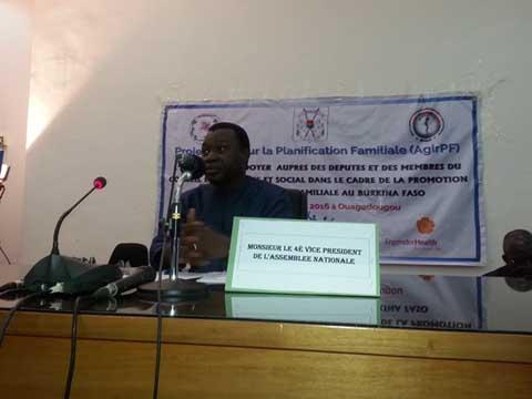 Planification familiale: Un plaidoyer auprès des députés pour accroitre le montant alloué à l'achat des produits contraceptifs
