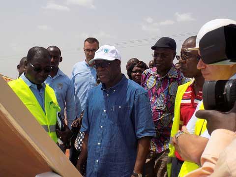 Projet Ziga II: L'eau du barrage arrive à Ouagadougou en mars 2017