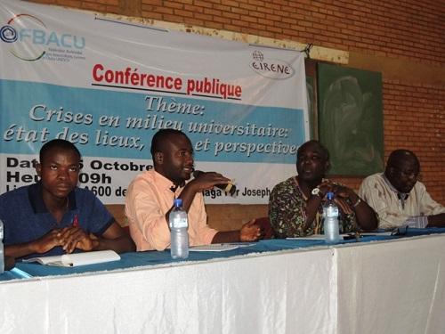 Crise dans les universités burkinabè: La FBACU prône une approche pacifique