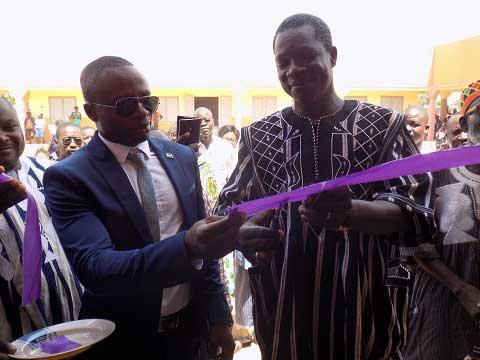 Education: L'Association Renato Sourire d'enfants Burkina a inauguré sa première école
