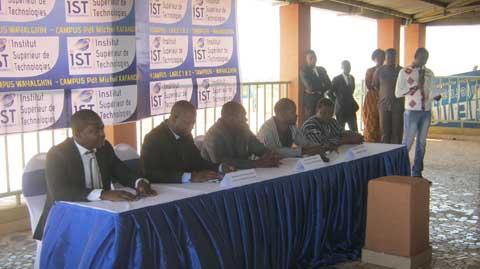 Institut supérieur de technologie: Le campus président Michel Kafando a ouvert ses portes