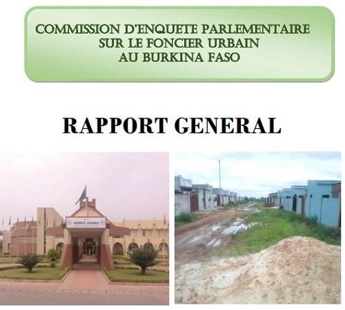 Rapport intégral de la commission d'enquête parlementaire sur le foncier urbain