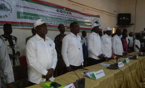Réconciliation nationale: La CODER a animé une conférence publique à Bobo-Dioulasso