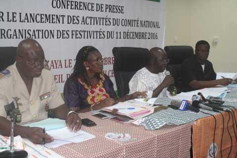Festivités du 11 décembre 2016: Le comité national d'organisation rassure