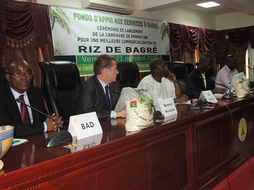 Commercialisation du riz de Bagré: C'est parti pour la campagne de promotion