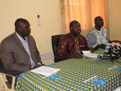 Conférence nationale de l'insurrection: Les initiateurs apportent des réajustements au programme