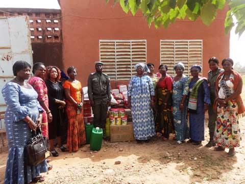 Maison d'arrêt et de correction de Ouagadougou: Les femmes et les mineurs reçoivent des vivres