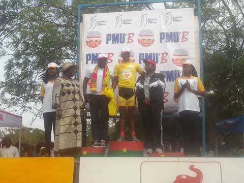Troisième étape du Tour du Faso: Le Burkina perd le maillot jaune