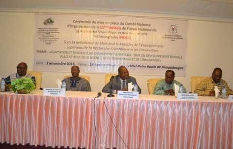 11e édition du FRSIT: Le comité d'organisation a été mis en place