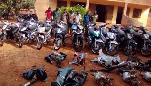 Vols d'engins à Bobo-Dioulasso: un groupe de malfrats aux arrêts