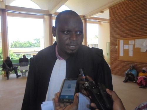 Crise à la CAMEG: «Les locaux doivent être vidés par celui qui les occupe illégalement», Me Edasso Bayala, avocat de la nouvelle équipe de la CAMEG