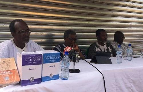 Dédicaces: Dr Valère Somé et Ernest Compaoré dans le cercle des écrivains burkinabè
