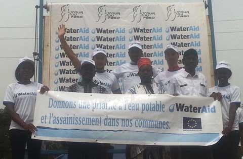 Tour du Faso 2016: Les bienfaits de WaterAid
