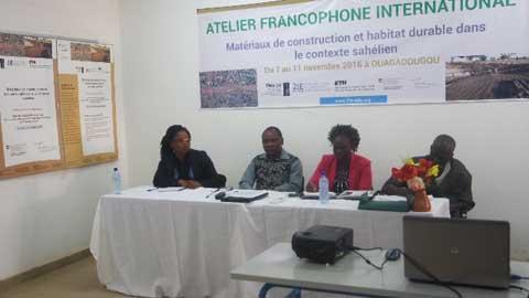 Valorisation  des matériaux locaux pour la construction: 2IE mène la réflexion à Ouaga