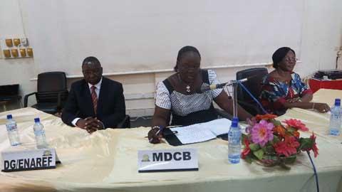 Des secrétaires du ministère de l'Economie en actualisation et renforcement des compétences
