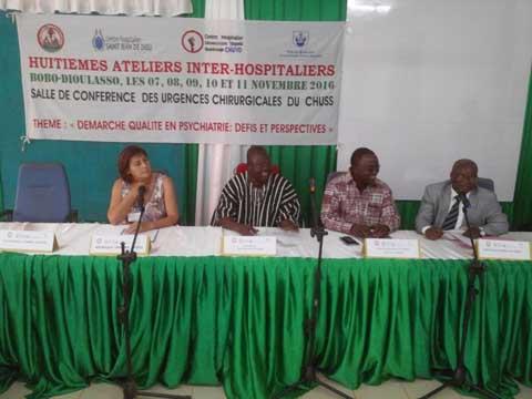 Psychiatrie à Bobo- Dioulasso: Les huitièmes journées inter-hospitalières ont ouvert leurs portes
