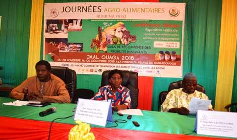 Le monde de l'agro-alimentaire bientôt à Ouagadougou pour la promotion des produits locaux