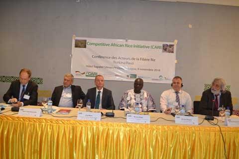 7e conférence des acteurs de la filière riz: Un cadre de partage d'expériences en matière de promotion de la filière en Afrique