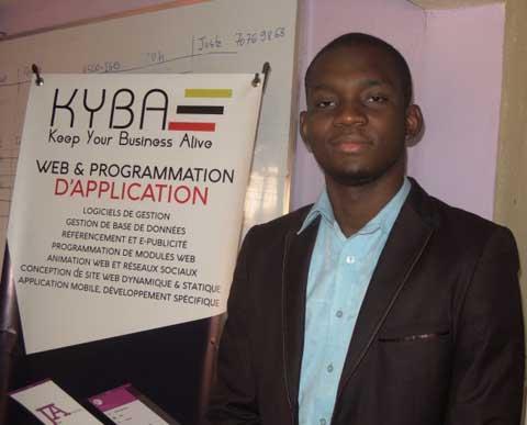 Kévin Kaboré, portrait d'un jeune gladiateur du numérique