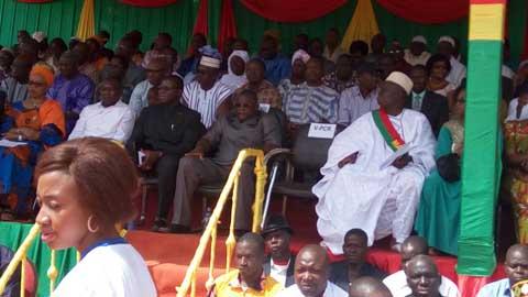 Orodara: Le conseil municipal se présente à ses administrés