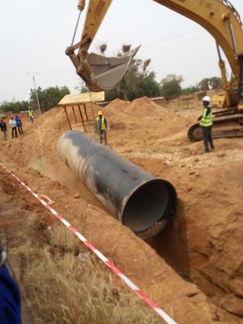 Projet  ZIGA II: Vers une résolution de la pénurie d'eau à Ouagadougou