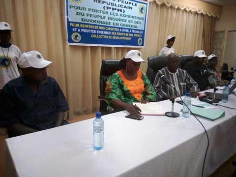 Politique au Faso: Le PPR est né