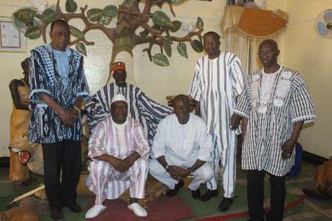 Réconciliation nationale: La CODER reçue par le Mogho Naba