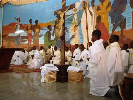 Jubilé d'or de la paroisse Saint Pierre de Gounghin: Un appel à consolider la foi des chrétiens