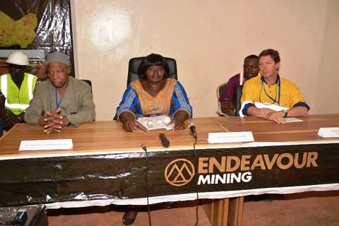 Production minière au Nord: Endeavour Mining offre des opportunités aux communautés
