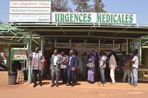 Grève des agents de santé: «il faut que les uns et les autres puissent mettre de l'eau dans leur vin», dixit Smaïla Ouédraogo