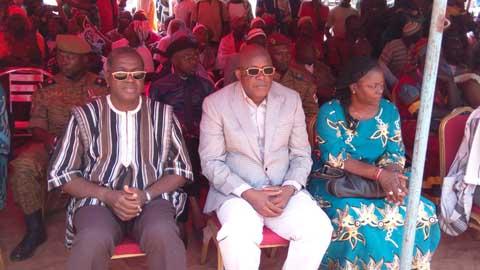 Le conseil municipal de Moussodougou présenté à ses administrés.