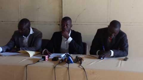 Insurrection populaire: Le Mouvement des jeunes pour la paix demande une mise en accusation de deux cadres du MPP
