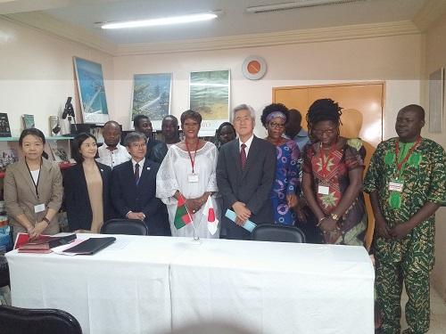 Accès à l'eau potable: Le Japon Offre 4 forages dans la province du Kourwéogo