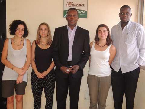Nous ont rendu visite: Trois Françaises, amies de l'enfant et de l'éducation
