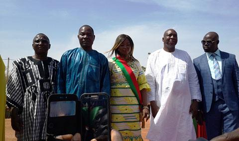 Arrondissement n°3: Rahinatou Sawadogo et ses «hommes de terrains» investis