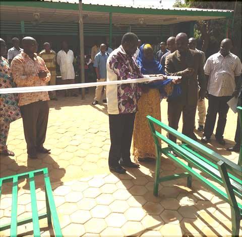 Hôpital Yalgado Ouédraogo:  Abdoul Services aménage pour les Urgences