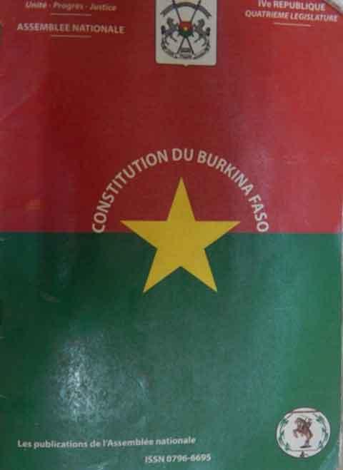 Quelle Constitution pour les Burkinabè, «un peuple de yelkayé»? Le cas de la chefferie traditionnelle!