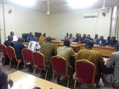 Education nationale: Le ministre Jean Martin Coulibaly et les proviseurs du Burkina échangent sur les préoccupations de l'heure