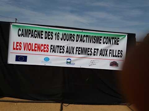 Violences faites Aux Femmes et aux filles: L'ONG MWANGAZA Action a engagé seize jours d'activisme contre le phénomène