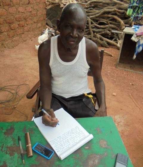 Anatole Dao, Rédacteur de l'Institut Pédagogique du Burkina  à la retraite: «J'ai perçu 165.000 FCFA, au lieu de 500.000F, pour mes œuvres.»