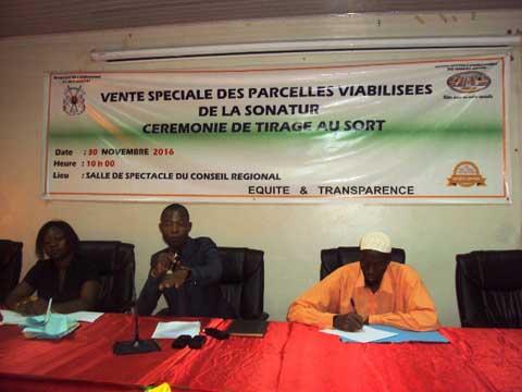 Vente de parcelles viabilisées de la SONATUR: Les 128 heureux gagnants de Ouahigouya sont connus