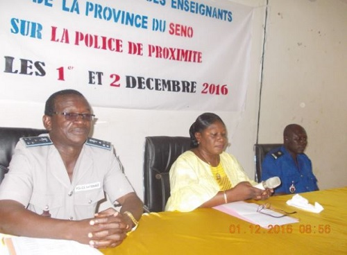 Sahel: Des enseignants à l'école de la police de proximité