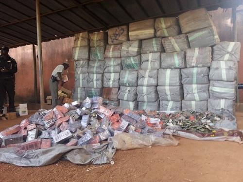 Sécurité: 2,850 tonnes de pétards saisis par la police nationale à Ouagadougou