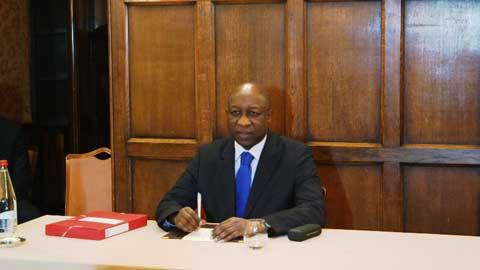 Conférence de Paris sur le PNDES: Paul Thiéba confiant