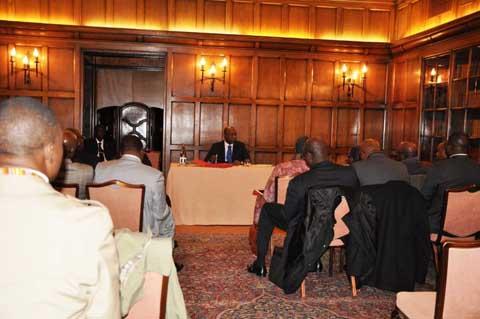 PNDES/ Conférence de Paris: Paul Kaba Thiéba fait les derniers réglages